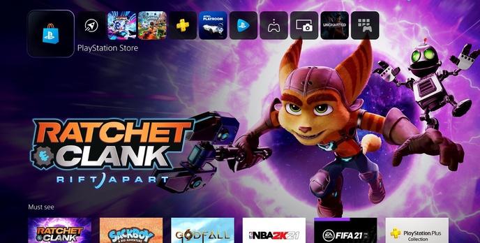 Zobacz interfejs PlayStation 5