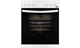 Zanussi ZCV 55001 WA (Płyta Ceramiczna Piekarnik Elektryczny szer. 500mm Biały)