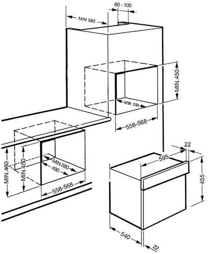 Smeg SC845MPO9 kuchenka mikrofalowa