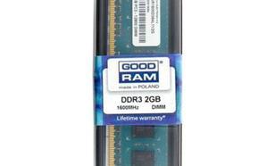 GoodRam DDR3 2048MB PC1600 CL11
