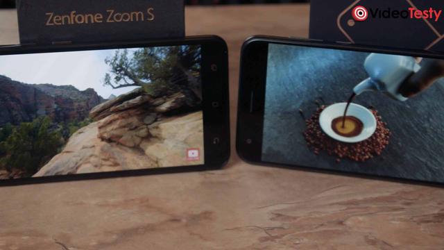 ASUS Zenfone 4 vs ASUS Zenfone Zoom S ekrany