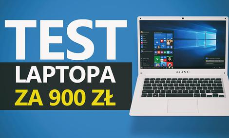 Testujemy Laptopa za 900zł! Kiano SlimNote 14,2+