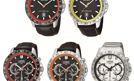 Zegarek nie musi być nudny - Nowe modele dla mężczyzn od Lorusa