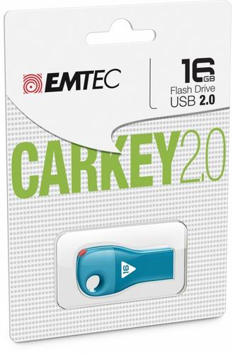 EMTEC Pendrive 16GB Car Key D302