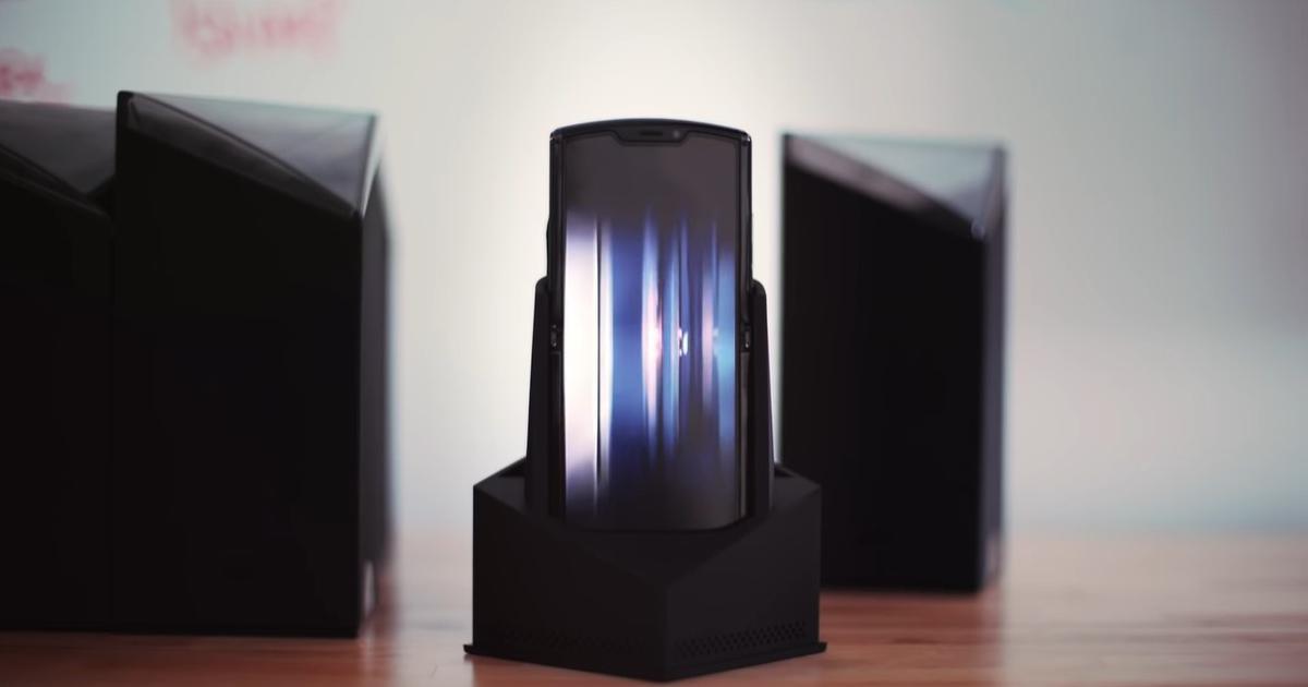 Motorola Razr zaskakuje swoim designem