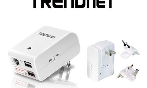 TRENDnet TEW-714TRU - podróżny router z funkcją ładowania przez port USB