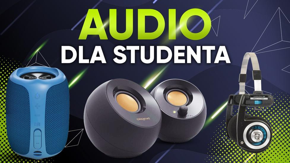 Produkty audio dla studenta - Niedrogie i opłacalne!