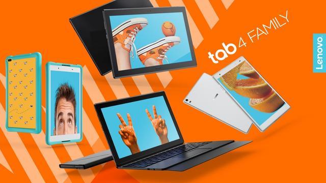 Tablety z serii Tab 4 to mocne i szybkie modele.