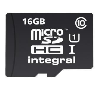 Lenovo A (czarny) + karta microSD 16 GB