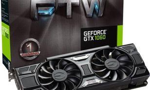 EVGA GeForce GTX 1060 FTW Gaming 6GB GDDR5 (192 Bit) HDMI, DVI-D, 3xDP, BOX (06G-P4-6268-KR)