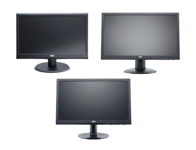 AOC prezentuje linię 19,5-calowych monitorów LED