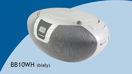 Blaupunkt BB10WH FM MP3 CD/MP3 BOOMBOX WHITE