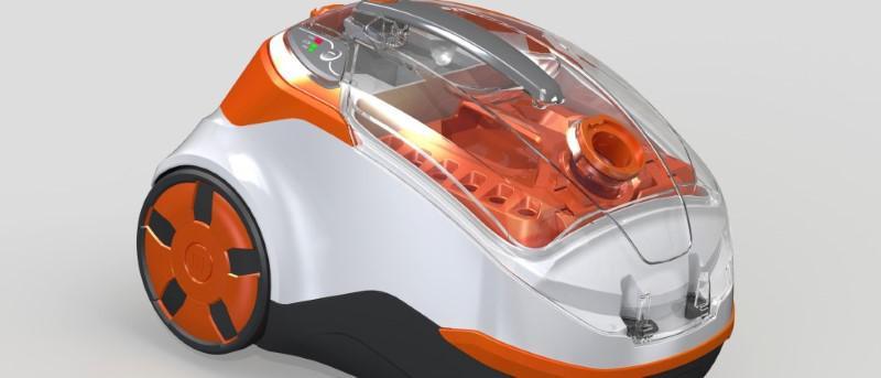 Thomas Cycloon Hybrid wyposażony jest w dwa typy filtracji