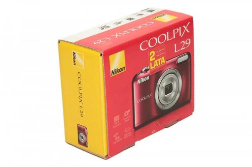 Nikon L29 red