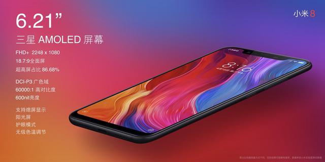 Xiaomi Mi 8 Specs