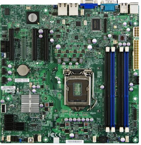 Supermicro Płyta serwerowa X9SCL-F bulk MBD-X9SCL-F-B