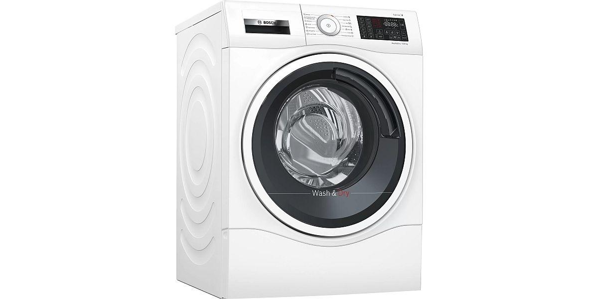 biała pralko-suszarka marki Bosch