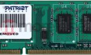 Patriot DDR3 4GB 1333MHz CL9 (PSD34G133381)