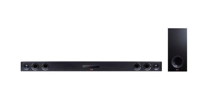 LG LAS655 soundbar o wysokiej mocy