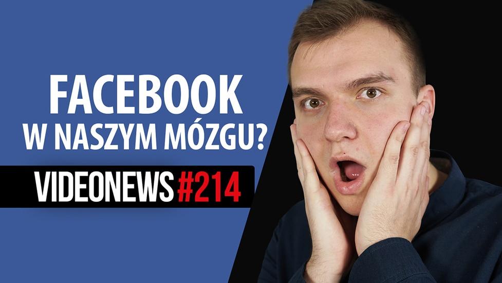 Facebook, DJI i Elon Musk chcą wejść nam do mózgu - VideoNews #214