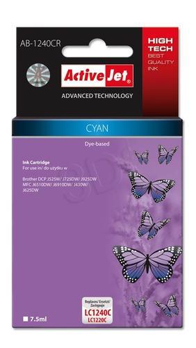 ActiveJet AB-1240CR tusz cyan do drukarki Brother (zamiennik Brother LC1240C, LC1220C) Premium