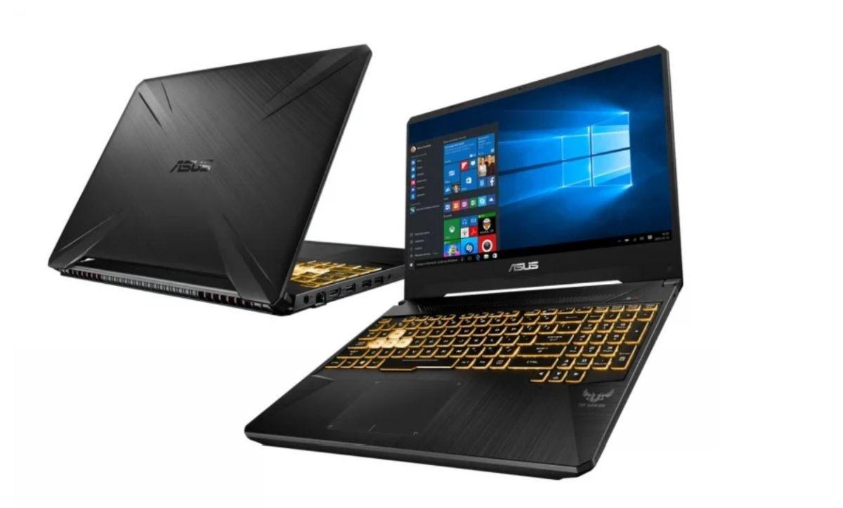 ASUS TUF Gaming FX505DT-BQ051 laptop do nauki, ale i do gier