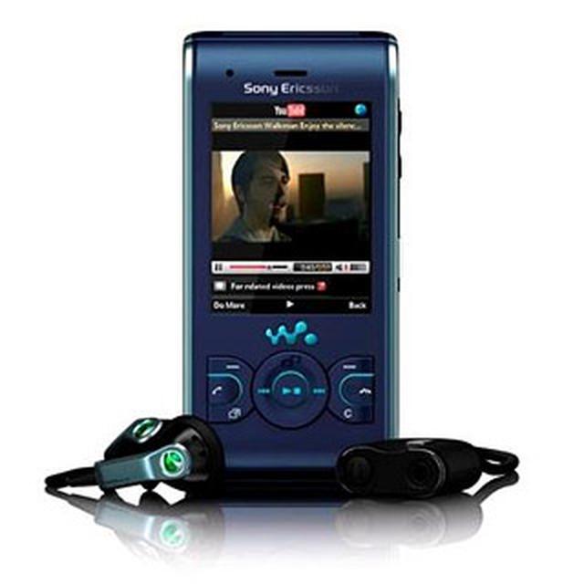 Sony Ericsson W595 Video Demo