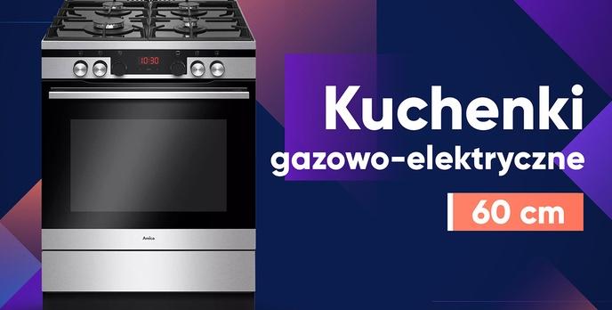 Jaka kuchenka gazowo-elektryczna 60 cm? |TOP 7|