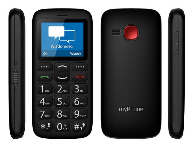 myphone simply 2 czarny
