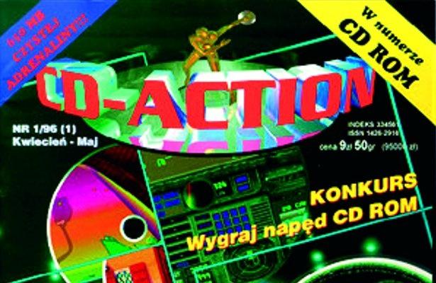 Pierwsze wydanie CD-Action z 1996 roku