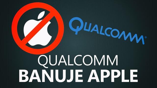 Qualcomm Banuje Smartfony Apple w Chinach!