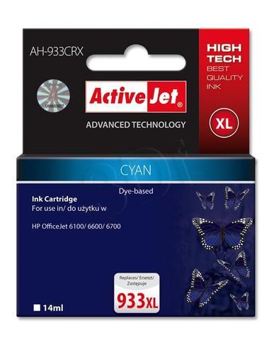 ActiveJet AH-933CRX tusz cyan do drukarki HP (zamiennik HP 933XL CN054AE) Premium