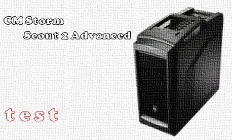 CM Storm Scout 2 Advanced test i recenzja obudowy