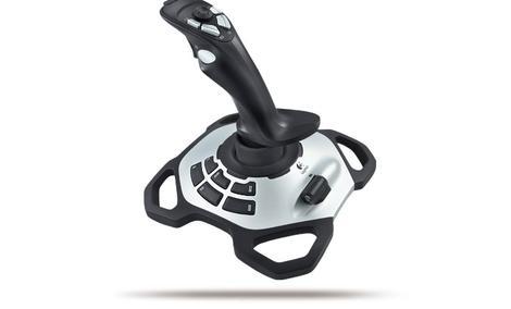 Logitech Extreme 3D Pro - precyzyjny joystick ze sterowaniem obrotowym