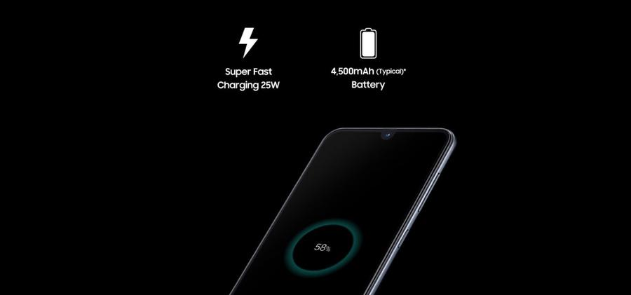 Samsung Galaxy A70 bateria