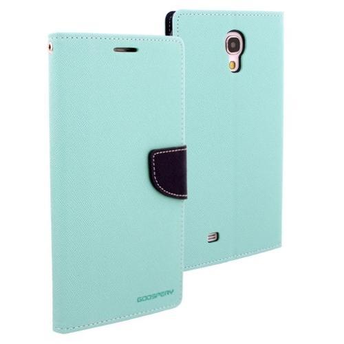 """WEL.COM Etui Fancy Diary do Galaxy Tab 3 Lite 7"""" miętowo granatowe"""