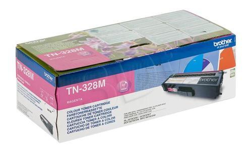 BROTHER Toner Czerwony TN328M=TN-328M, 6000 str.