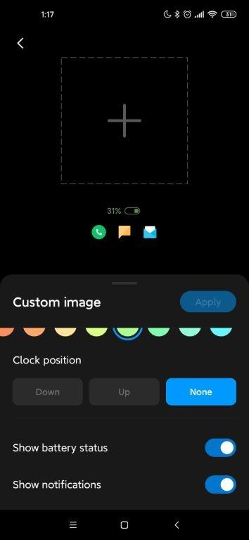 Always-On Display pozwala na głęboką personalizację