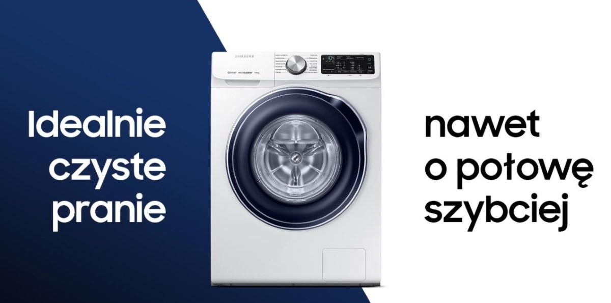 Grafika producenta pranie w pralce Samsung WW90M644OBW