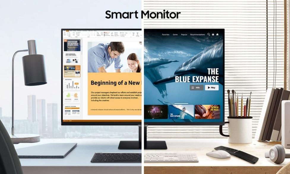 Pierwsze inteligentne monitory od Samsunga - Z funkcjami Smart TV