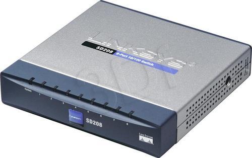 LINKSYS (SD208-EU) Switch 8x10/100Mbps Desktop