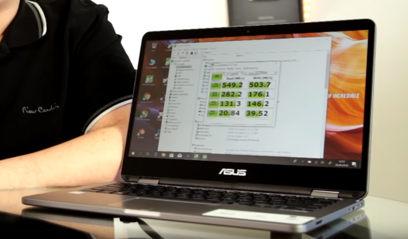 Asus Vivobook Flip 14 - ssd