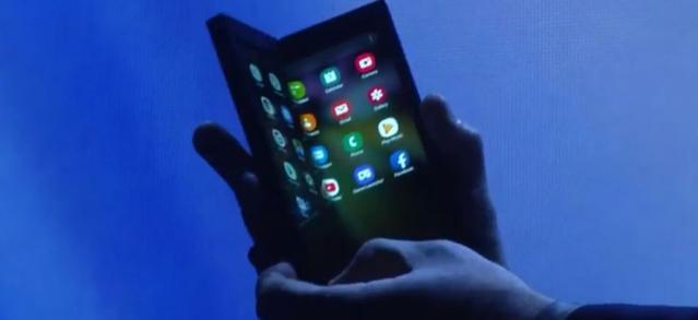 Ekran Infinity Flex będzie ważny w Samsungu Flex