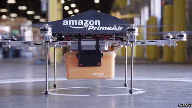 Dron-Kurier, Czyli Wielki Projekt Amazon