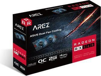 Asus Radeon RX 560 Arez series, 2GB GDDR5, HDMI, DVI, DP