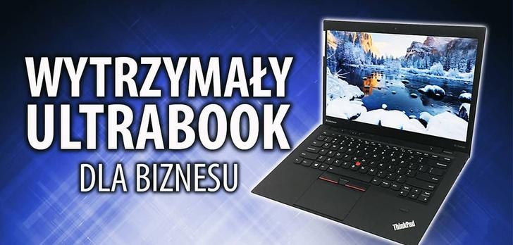 Test Lenovo X1 Carbon - Bezpiecznego Ultrabooka dla biznesu