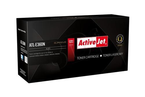 ActiveJet ATL-E360N toner Black do drukarki Lexmark (zamiennik Lexmark E360H11E) Supreme