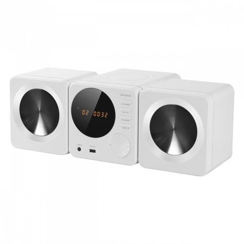 SENCOR SHC XD013 WHITE Mikrowieża z DVD, 2x5W RMS,XviD,DVD R/RW,MP3, USB