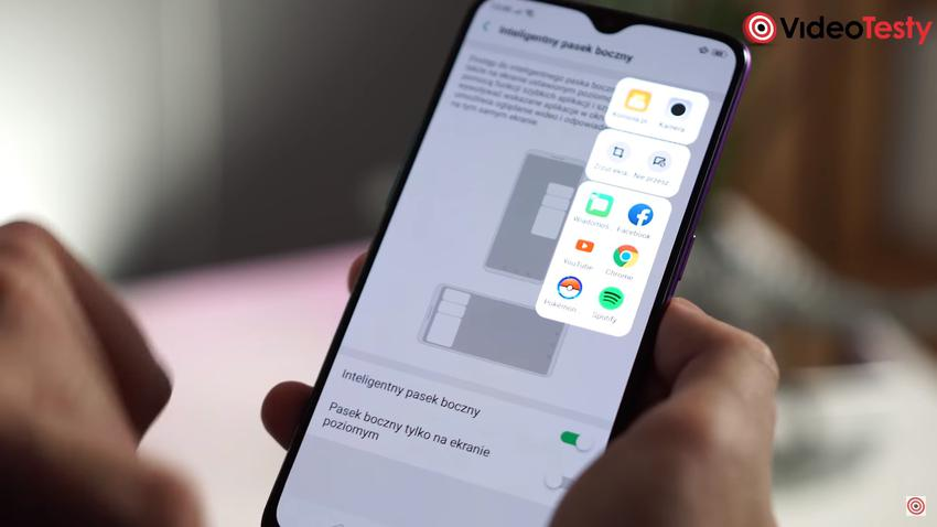 Szuflada z aplikacjami to kopia od Samsunga