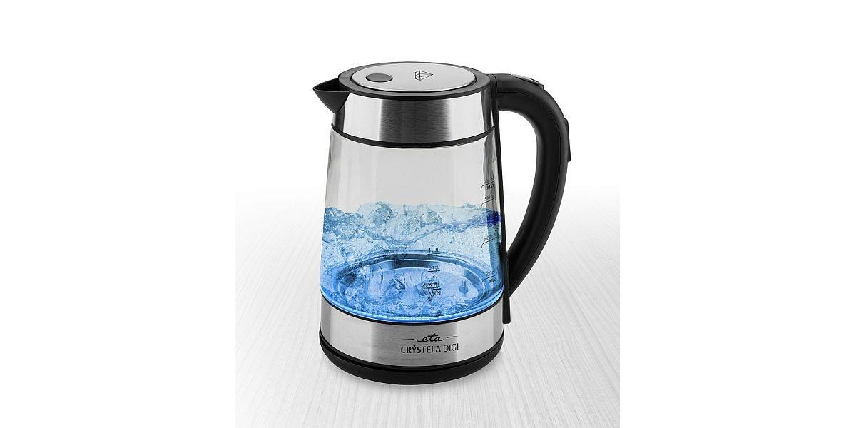 szklany czajnik elektryczny firmy ETA